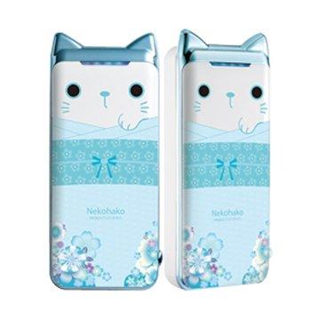 PROBOX 限量和服貓系列5200mah行動電源-藍