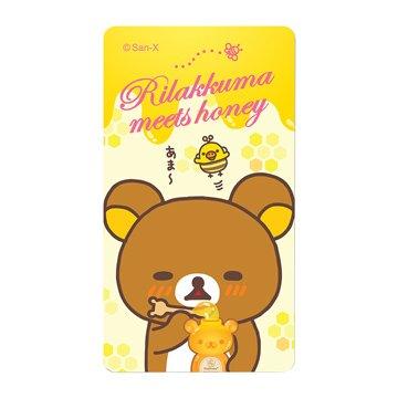 日本San-X拉拉熊6000mAh觸控行動電源-蜂蜜1