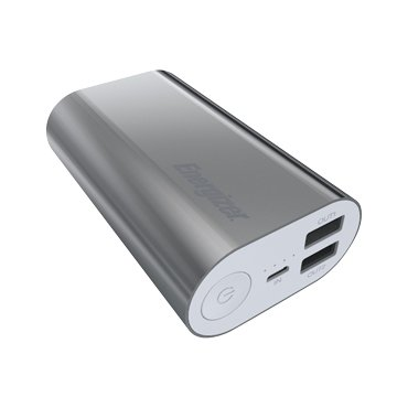 Energizer UE10008SR 10000mAh行動電源-銀