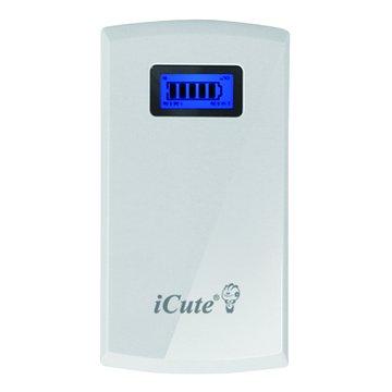 iCute 西華 8000mAH行動電源-白色