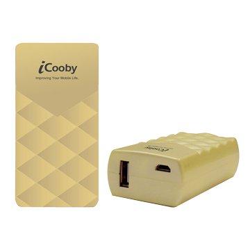 iCooby G5200A 香檳金 / 迷你香水行動電源