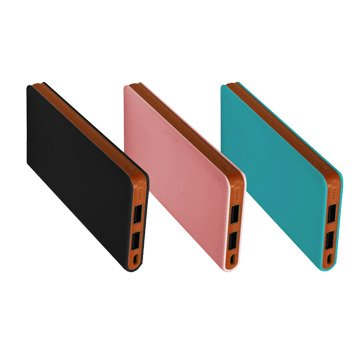 Link All i8000 / 藍綠色 / 皮夾型行動電源