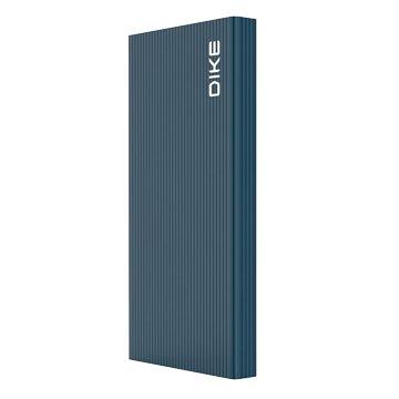 DIKE DPP210 10000mAh TypeC雙向快充行動電源-藍