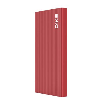 DIKE DPP210 10000mAh TypeC雙向快充行動電源-紅