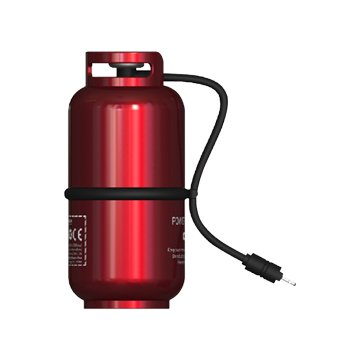 WK 煤氣罐造型10000mAh行動電源-紅色