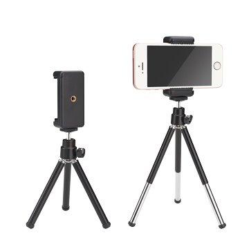 E-books  N54兩段伸縮手機直播三腳支架-專案