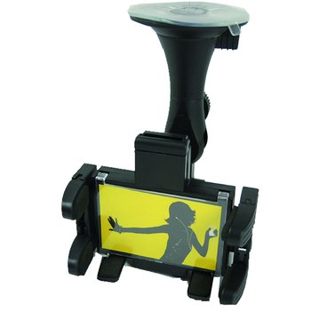07-IP08 車用固定後視鏡 手機/PDA架