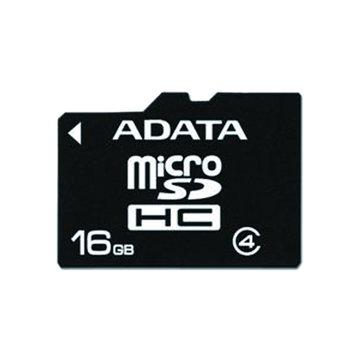 ADATA 威剛 microSDHC Class4 16G記憶卡(單轉卡)
