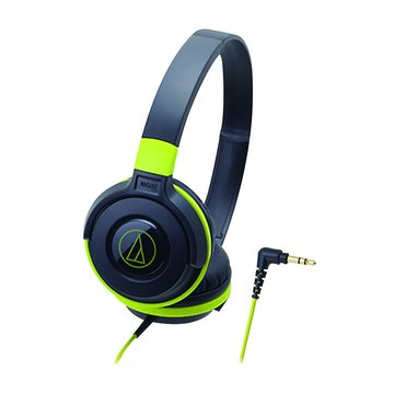audio-technica 鐵三角鐵三角 S100 BGR(黑綠)攜帶頭戴式耳機