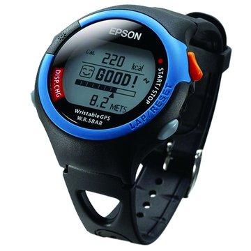 EPSON 愛普生 SS-301B休閒型人腕式GPS手錶-