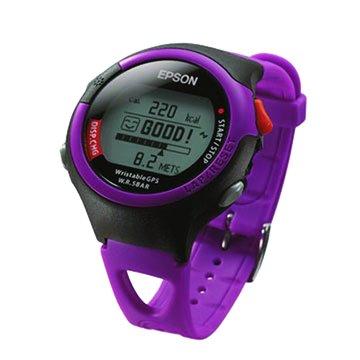 EPSON 愛普生 SS-301P休閒型人腕式GPS手錶-桃紅