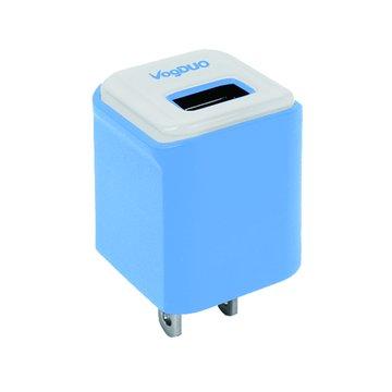 VogDUO 晶彩型USB充電器(藍)