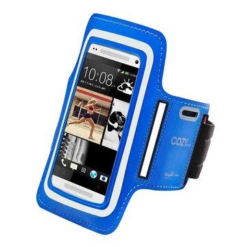 E-books  N10 手機5.7吋以下運動手臂套-藍