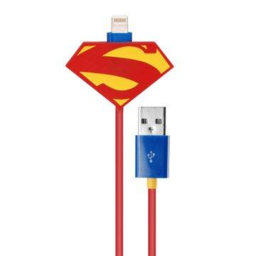 COI+xDC 正義聯盟 超人款iPhone Lightning充電傳輸線