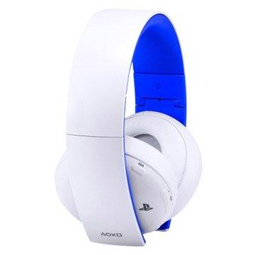 SONY 新力牌 PS4 無線立體聲耳機組-冰河白