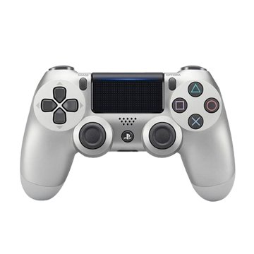 SONY PS4 DS4光條觸碰板 無線控制器 銀