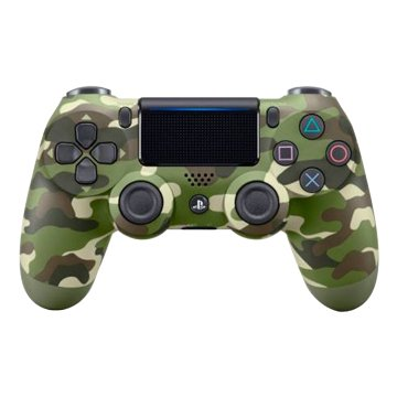 SONY 新力牌 PS4 DS4光條觸碰板 無線控制器 迷彩綠
