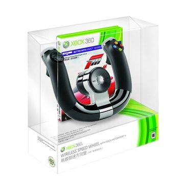 Microsoft 微軟XBOX360 無線競速方向盤 + Forza 4組合包