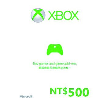 Microsoft 微軟XBOX360禮物卡$500