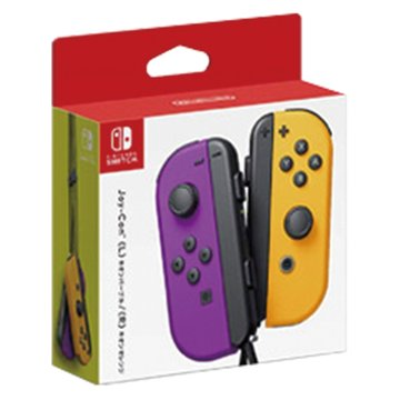 任天堂 Nintendo Switch Joy-Con 紫橘