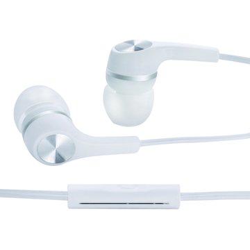 E-books S5線控接聽入耳式耳麥-白(福利品出清)