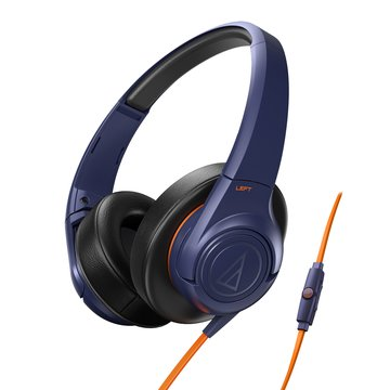 audio-technica 鐵三角鐵三角通話耳機AX3iS NV藍(福利品出清)