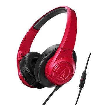 audio-technica 鐵三角鐵三角通話耳機AX3iS RD紅(福利品出清)
