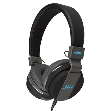 INTOPIC 廣鼎JAZZ-M180-BK摺疊音樂耳機麥克風