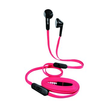 SEEHOT 嘻哈部落SeeHot立體聲有線耳機S600紅