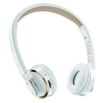 rapoo 雷柏 H6080(香檳金)藍芽無線摺疊耳機麥克風(福利品出清)