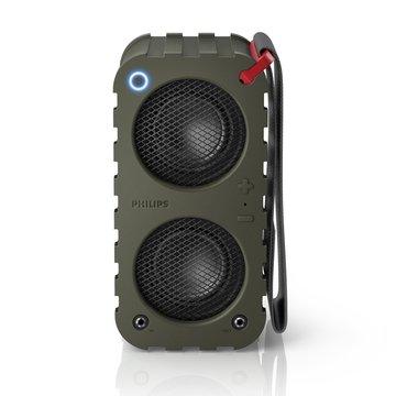 PHILIPS 飛利浦 SB5200K  藍牙攜帶喇叭(軍綠)(福利品出清)