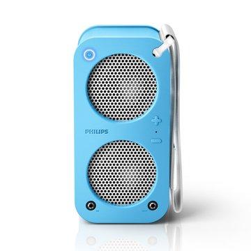 PHILIPS 飛利浦SB5200A  藍牙攜帶喇叭(粉藍)(福利品出清)