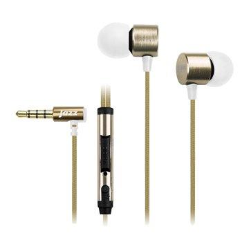 INTOPIC 廣鼎JAZZ-I69-GD重低音鋁合金耳機麥克風