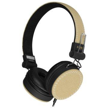 INTOPIC 廣鼎JAZZ-M100-GN摺疊音樂耳機麥克風(福利品出清)