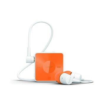 SONY 新力牌 SBH20 藍芽耳機-橘色(福利品出清)