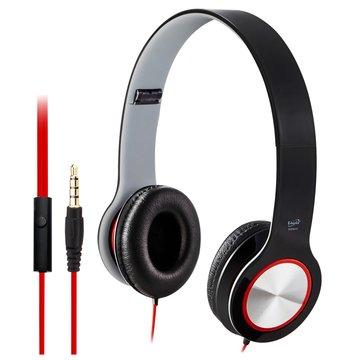 E-books S13 智慧手機接聽鍵摺疊耳機-黑
