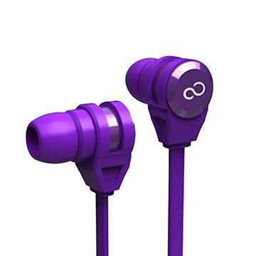 FUJITSU 富士通 富士通E-11手機專用耳機麥克風-紫(福利品出清)
