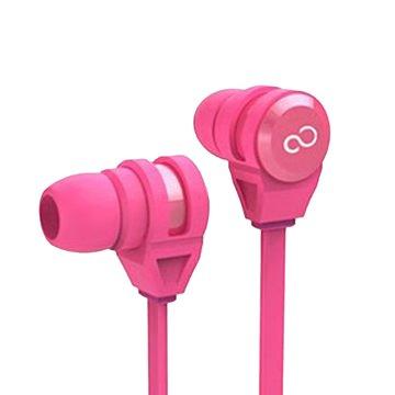 FUJITSU 富士通 富士通E-11手機專用耳機麥克風-粉(福利品出清)