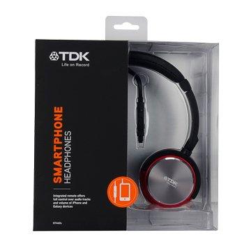 TDK 耳罩式可通話耳機ST460s黑(福利品出清)