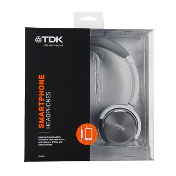 TDK 耳罩式可通話耳機ST460s白(福利品出清)