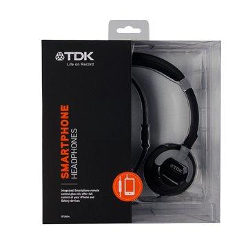 TDK 耳罩式可通話耳機ST260s(黑)