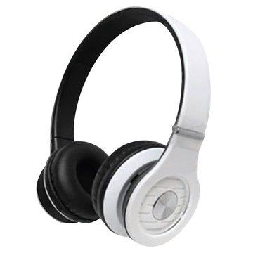 T.C.STAR 連鈺TCE8767WE(白)頭戴式耳機麥克風(福利品出清)