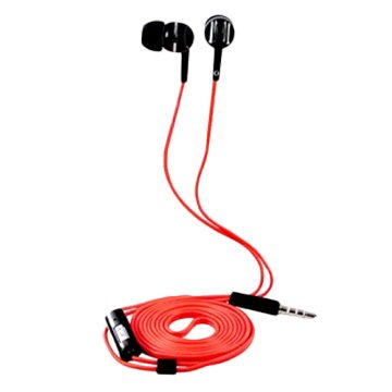 SEEHOT 嘻哈部落SeeHot入耳立體聲有線耳機S340紅