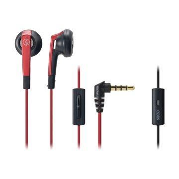audio-technica 鐵三角通話用耳機C505iS RD紅