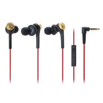 audio-technica 鐵三角 鐵三角iPhone專用耳機CKS55Xi金(福利品出清)