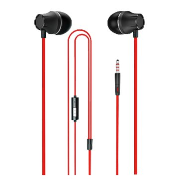 SEEHOT 嘻哈部落SeeHot入耳立體聲有線耳機S260紅