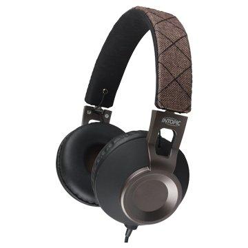 INTOPIC 廣鼎摺疊音樂耳機麥克風JAZZ-M360-BR(福利品出清)