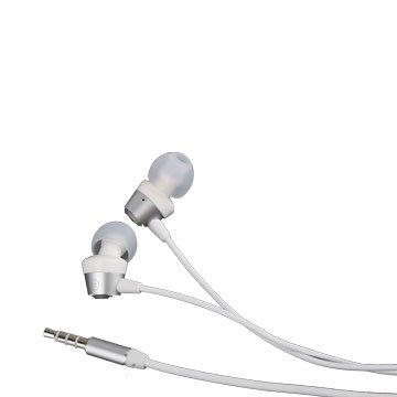 時尚R1/耳塞式耳機麥克風  銀色