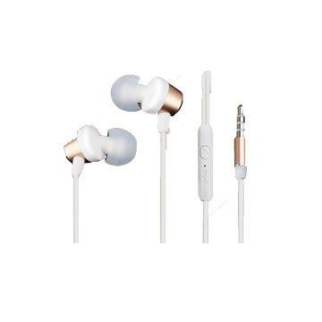 時尚R1/耳塞式耳機麥克風金色