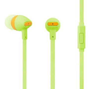 PC Park EW05 / 智慧型手機用耳塞式耳機 / 綠色